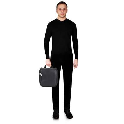 Несессер кожаный Dr. Koffer B216160-02-04 черный
