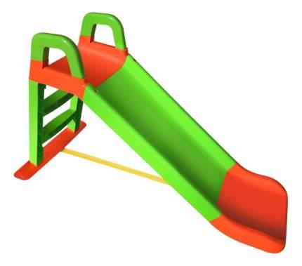 Горка детская Doloni Оранжево зеленая