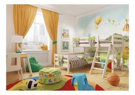 Кровать МебельГрад Угловая Соня с наклонной лестницей (вариант 8)