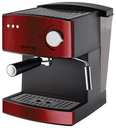 Рожковая кофеварка Polaris PCM 1528AE Adore Crema Red