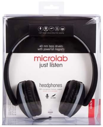 Наушники Microlab K761D Black/Grey