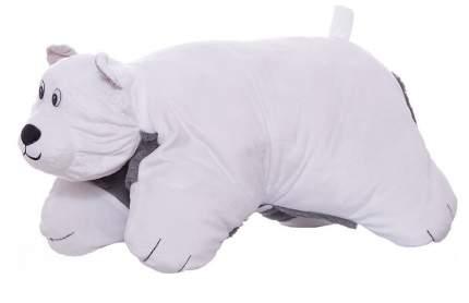 Подушка-игрушка Вывернушка 1Toy 2 в 1, Хаски-Полярный Медведь Т12043