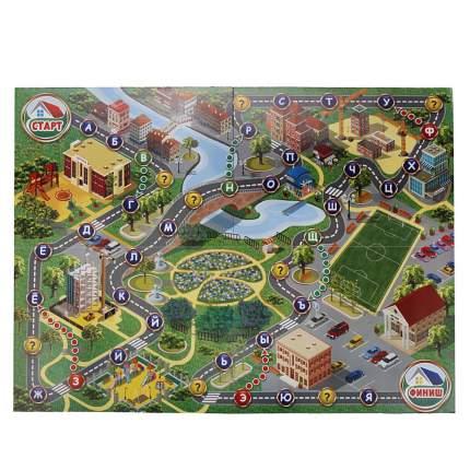 Умка настольная 3d игра-ходилка Умка строим город