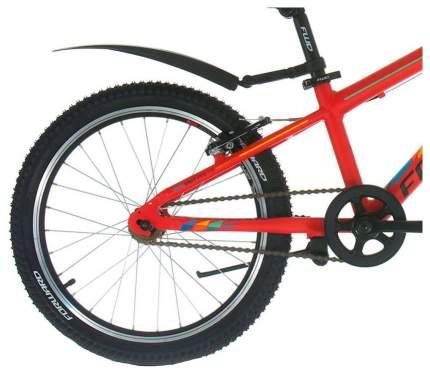 Велосипед UNIT PRO 1.0 (рост 10.5) 2017-2018 красный мат.