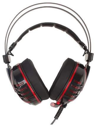 Игровые наушники A4Tech Bloody M615 Red/Black
