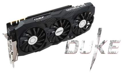 Видеокарта MSI Duke GeForce GTX 1080 Ti (GTX 1080 Ti DUKE 11G OC)