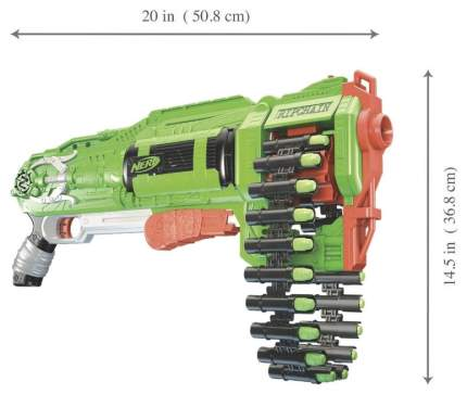 Бластер Hasbro Nerf Зомби Цепевик E2146