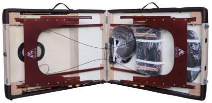 Массажный стол DFC Nirvana Relax Pro бежевый/коричневый