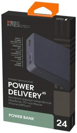 Внешний аккумулятор InterStep PB24PD 24000 мА/ч (IS-AK-PB24QPD45-BLUB210) Blue