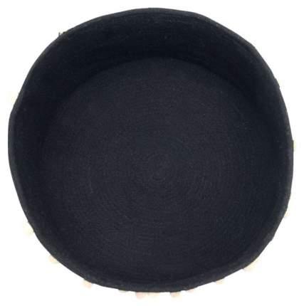 Корзина с горошинами Lorena Canals черная