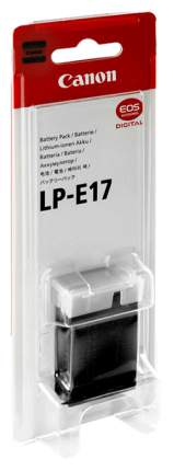 Аккумулятор для цифрового фотоаппарата Canon LP-E17 9967B002