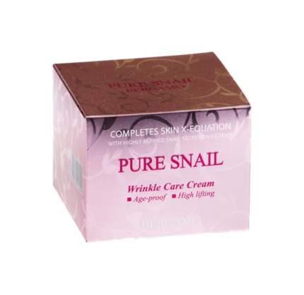 Крем для лица Bergamo Pure Snail Wrinkle Care Cream 50 мл