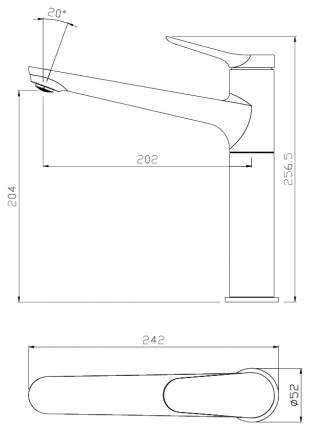 Смеситель для кухонной мойки SmartSant SM293501AA
