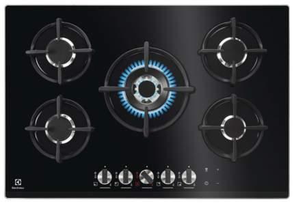 Встраиваемая варочная панель газовая Electrolux GPE373NK Black