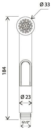 Гигиенический душ Am.Pm F0201964