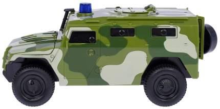 Внедорожник инерционный Наша игрушка Военный, масштаб 1:29, с открывающимися дверьми