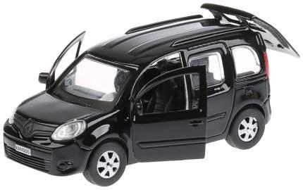 Машина металлическая инерционная Renault Kangoo, цвет черный, 12 см Технопарк