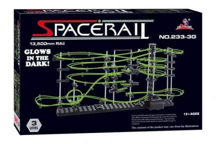 Динамический конструктор Космические горки, светящиеся рельсы, уровень 3 SpaceRail 233-3G