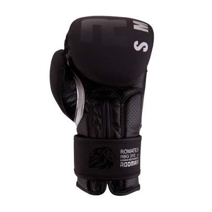 Боксерские перчатки Roomaif RBG-310 черные 12 унций