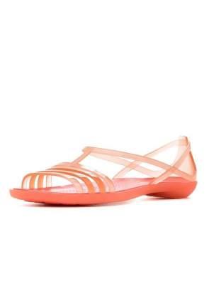 Шлепанцы женские Crocs Isabella sandal-2 красные 41.5 RU