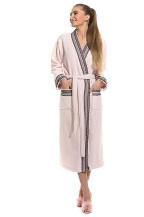 Женский махровый халат Elegance Peche Monnaie 733, цвет сахарная вата, размер M