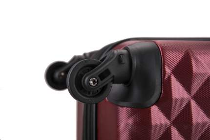 Чемодан с расширением L'Case Phatthaya-20 бордовый ручная кладь S