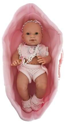 Пупс Nines d'Onil Новорожденная девочка, в люльке