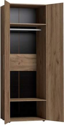 Платяной шкаф Hoff Канкун 80327595 79,8х230х57,9, дуб табачный