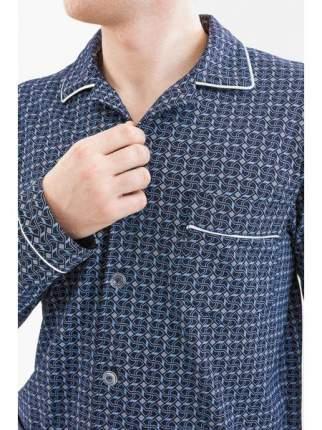 Мужская пижама из кулирки LikaDress 6476 р.52
