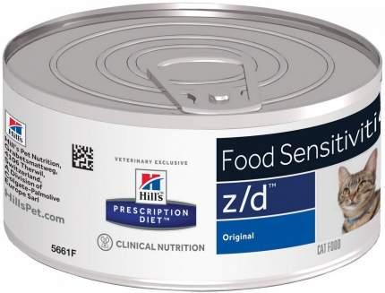 Консервы Hill's Prescription Diet z/d Food Sensitivities для кошек 156г
