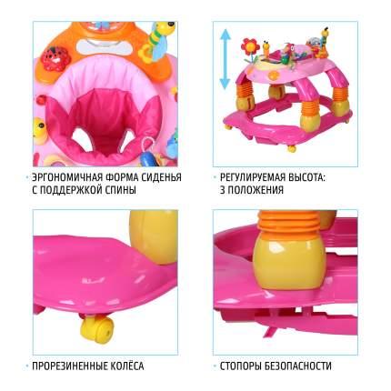 Детские ходунки Nuovita Letizia Rosa Розовый