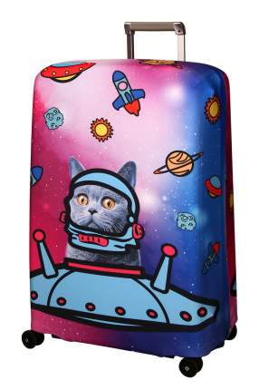 Чехол для чемодана Routemark Ракета L/XL SP180 розовый
