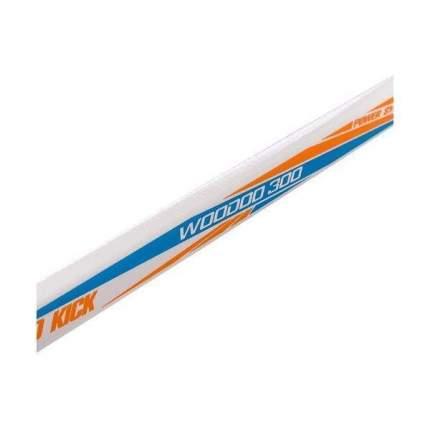 Хоккейная клюшка Grom Woodoo 300 Composite SR, 172 см, черная, правая
