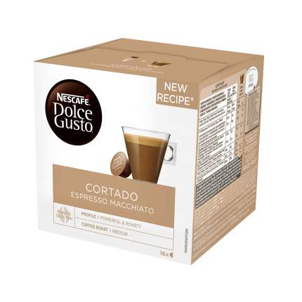 Кофе в капсулах Nescafe Dolce Gusto cortado 16 капсул