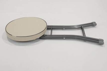 Табурет Стулья.Сайт 4115 32х34х48 см, слоновая кость/серый металлик