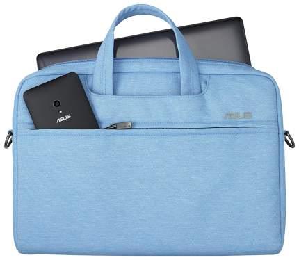"""Сумка для ноутбука 12"""" Asus EOS Shoulder Bag голубая"""