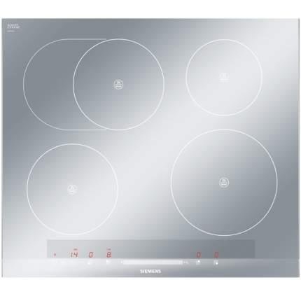 Встраиваемая варочная панель индукционная Siemens EH679MB17E Silver
