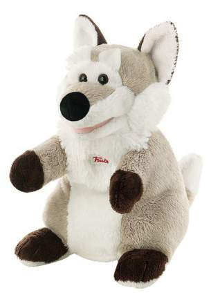Мягкая игрушка Trudi на руку Волк, 25 см