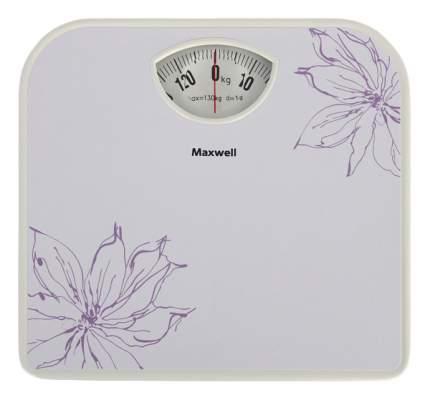 Весы напольные Maxwell MW-2656 W Белый, рисунок