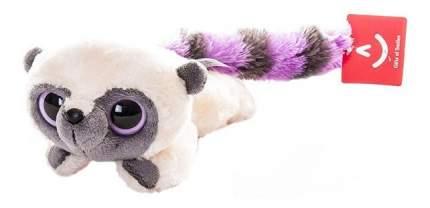 Мягкая игрушка Aurora Юху и его друзья 16-101 Юху фиолетовый лежачий, 16 см