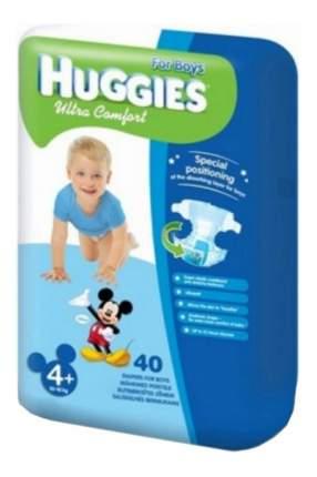 Подгузники Huggies Ultra Comfort для мальчиков 4+ (10-16 кг), 40 шт.