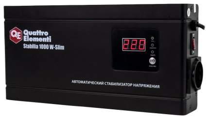 Стабилизатор напряжения QUATTRO ELEMENTI Stabilia 1000 W-Slim 772-562