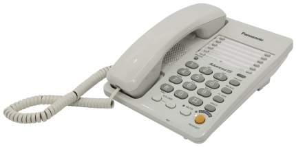 Проводной телефон Panasonic KX-TS2363RUW белый