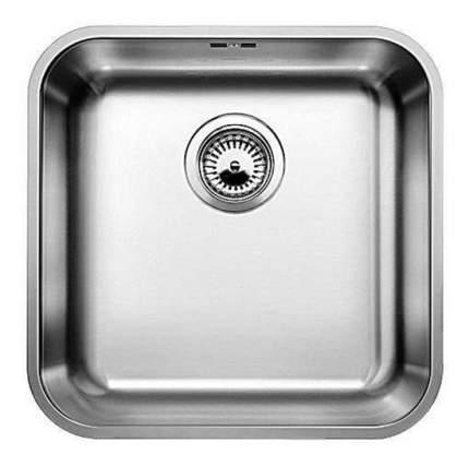 Мойка для кухни из нержавеющей стали Blanco Supra 400-U 518201 нержавеющая сталь