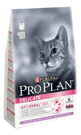 Сухой корм для кошек PRO PLAN Delicate, при чувствительном пищеварении, индейка, рис, 10кг