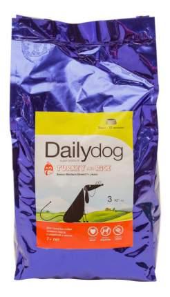 Сухой корм для собак Dailydog Senior Medium Breed для пожилых средних пород, индейка, 3кг