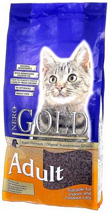 Сухой корм для кошек NERO GOLD Super Premium, курица, 18кг