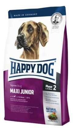 Сухой корм для щенков Happy Dog Supreme Young Maxi Junior, для крупных пород, птица, 1кг