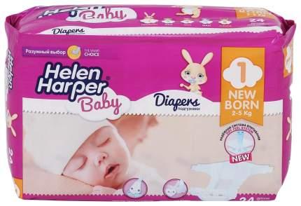 Подгузники для новорожденных Helen Harper Newborn 1 (2-5 кг), 24 шт.