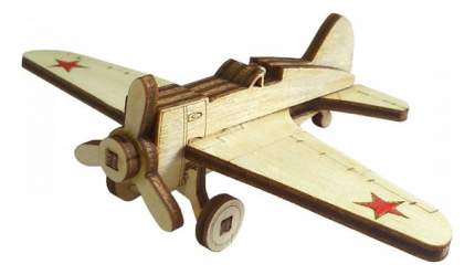 Конструктор деревянный Lemmo Советский истребитель И-16